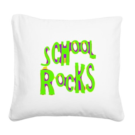 rocks2a.png Square Canvas Pillow