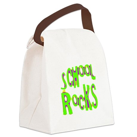 rocks2a.png Canvas Lunch Bag