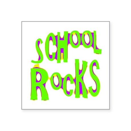 "rocks2a.png Square Sticker 3"" x 3"""