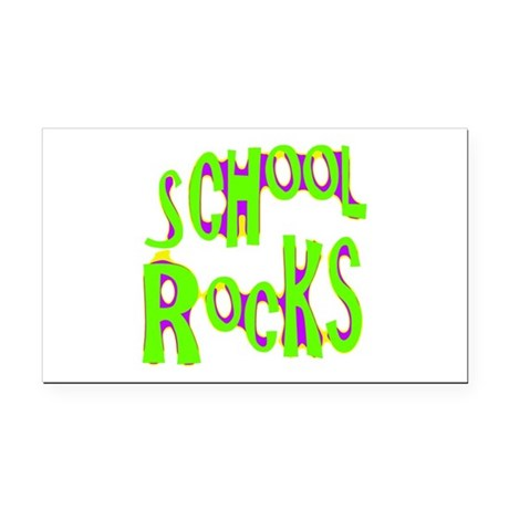 rocks2a.png Rectangle Car Magnet
