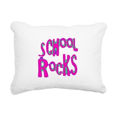 rocks2.png Rectangular Canvas Pillow