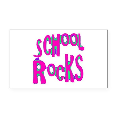 rocks2.png Rectangle Car Magnet