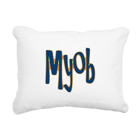 myob1.png Rectangular Canvas Pillow