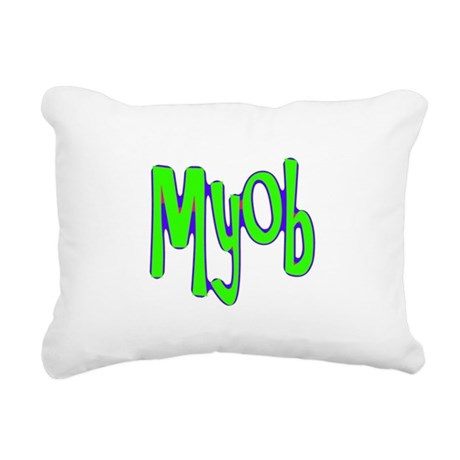 myob1a.png Rectangular Canvas Pillow