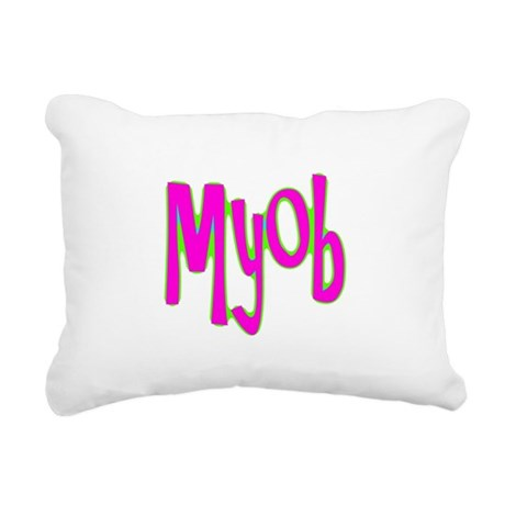 myob1c.png Rectangular Canvas Pillow