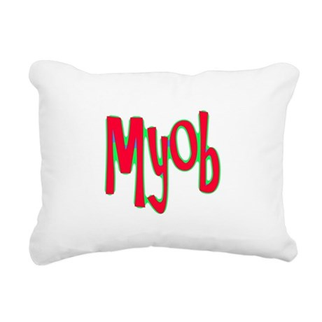 myob1d.png Rectangular Canvas Pillow