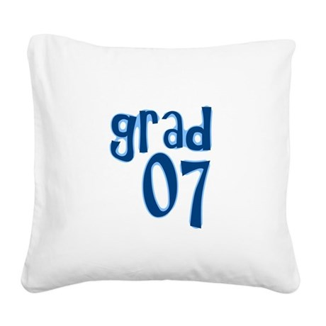 07.png Square Canvas Pillow