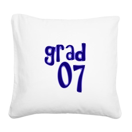 07b.png Square Canvas Pillow