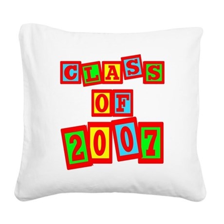 2007b.png Square Canvas Pillow