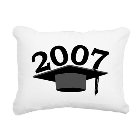 2007 Rectangular Canvas Pillow