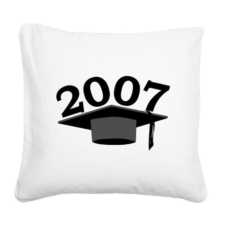 2007 Square Canvas Pillow