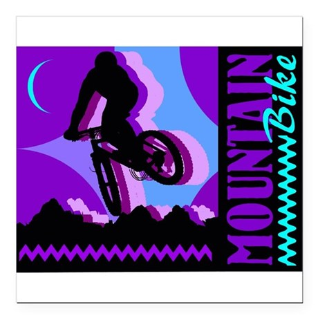 "bike2.jpg Square Car Magnet 3"" x 3"""