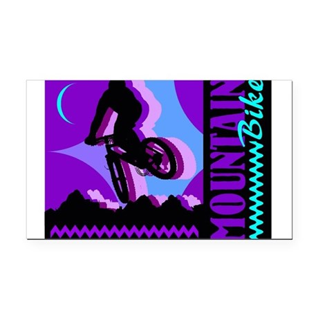 bike2.jpg Rectangle Car Magnet