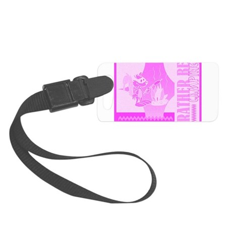 camping2.jpg Small Luggage Tag