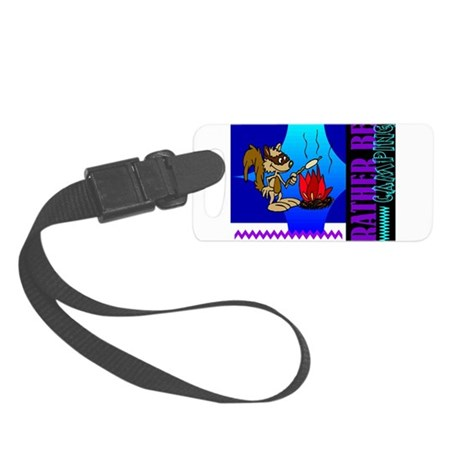 camping.png Small Luggage Tag