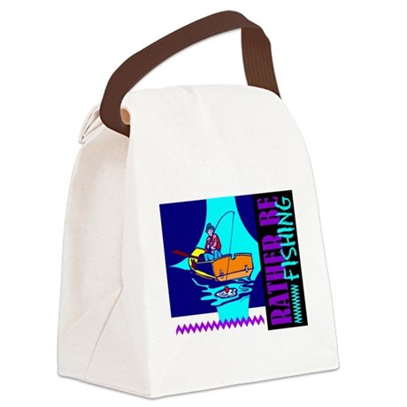 ratherfish.png Canvas Lunch Bag