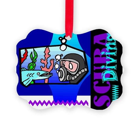 scub2.png Picture Ornament