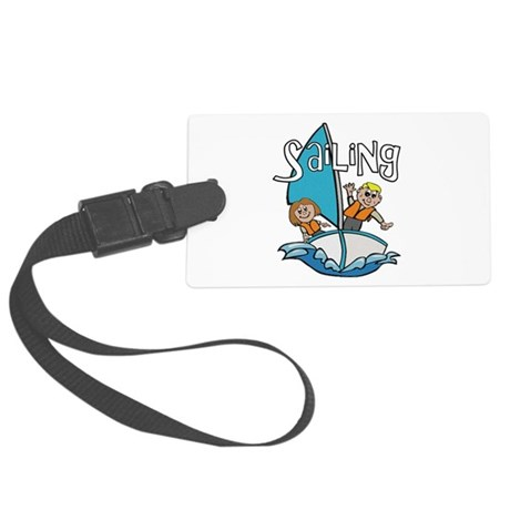 2-sailing.png Large Luggage Tag