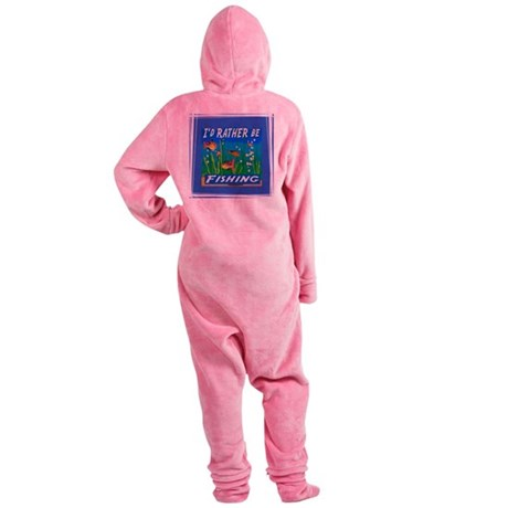 Fishing Footed Pajamas