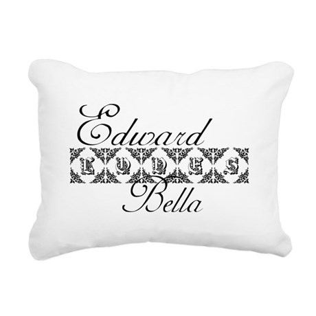 edward.png Rectangular Canvas Pillow