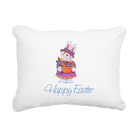 rabbit4.png Rectangular Canvas Pillow