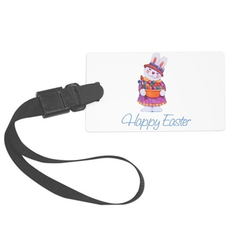 rabbit4.png Large Luggage Tag