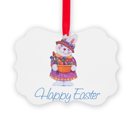 rabbit4.png Picture Ornament