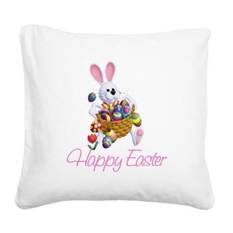 rabbit3.png Square Canvas Pillow