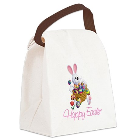 rabbit3.png Canvas Lunch Bag
