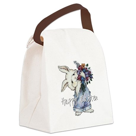 rabbit2.png Canvas Lunch Bag