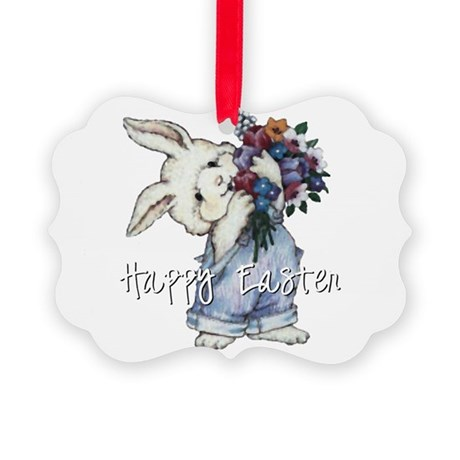 rabbit2.png Picture Ornament