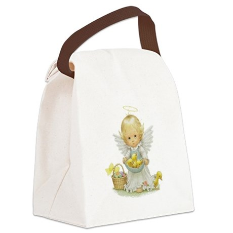 Easter Angel Canvas Lunch Bag
