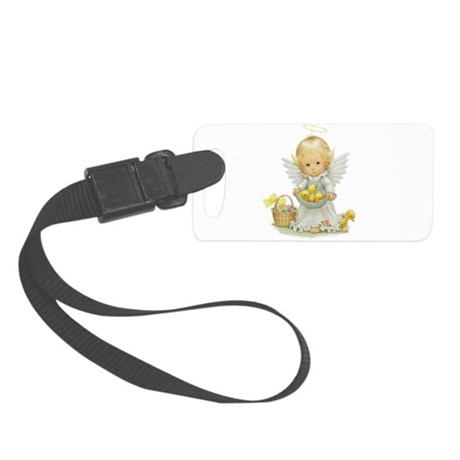 Easter Angel Small Luggage Tag