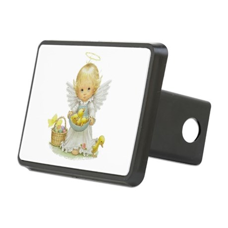 Easter Angel Rectangular Hitch Cover