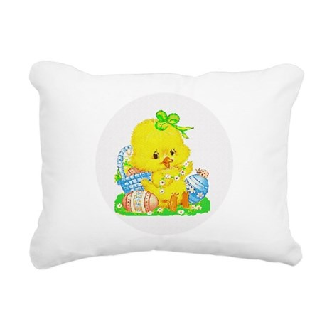 Duckling Rectangular Canvas Pillow