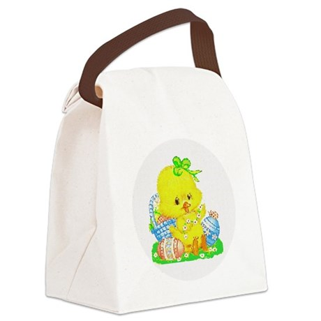 Duckling Canvas Lunch Bag