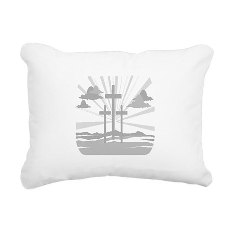 Calvary Rectangular Canvas Pillow