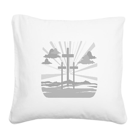 Calvary Square Canvas Pillow