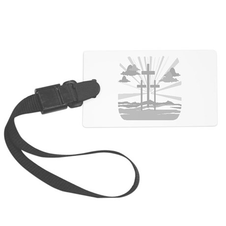 Calvary Large Luggage Tag
