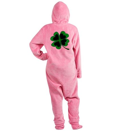 shamrock4a.png Footed Pajamas