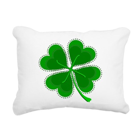 shamrock4a6.png Rectangular Canvas Pillow