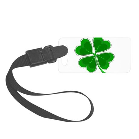 shamrock4a6.png Small Luggage Tag