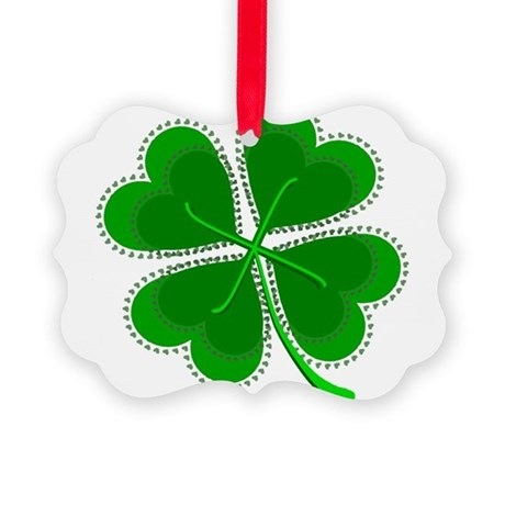 shamrock4a6.png Picture Ornament