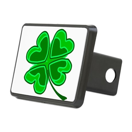 shamrock4.png Rectangular Hitch Cover