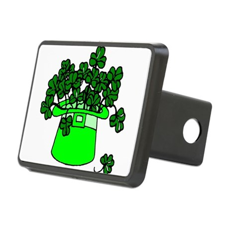 shamrocks2.png Rectangular Hitch Cover