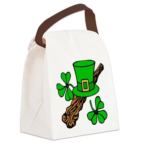 shillelagh2.png Canvas Lunch Bag