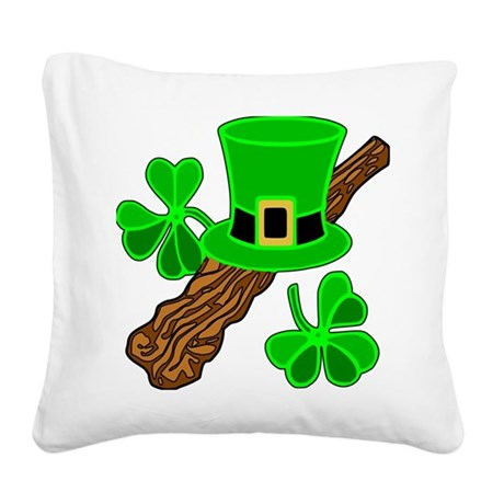 shillelagh2b.png Square Canvas Pillow