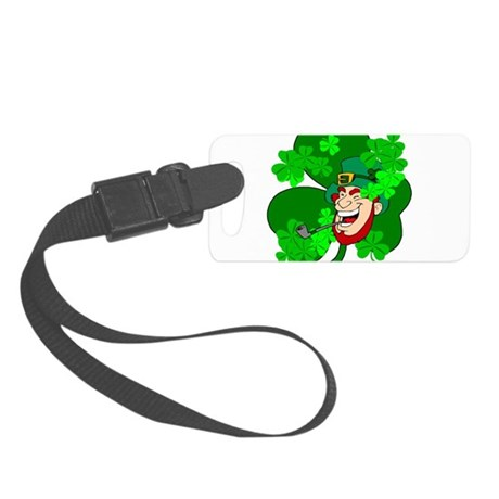 shamrock3b.png Small Luggage Tag