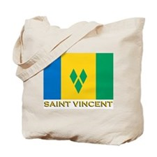 Flag of Saint Vincent Tote Bag
