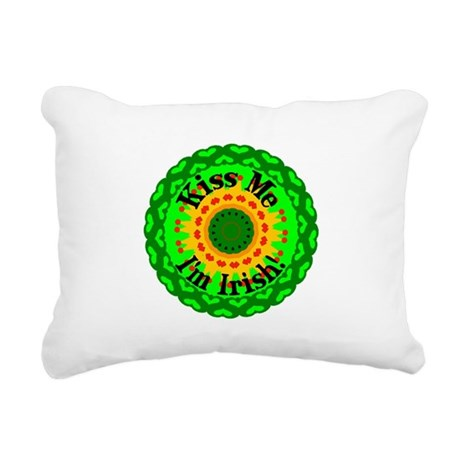 irishkaleid1.png Rectangular Canvas Pillow